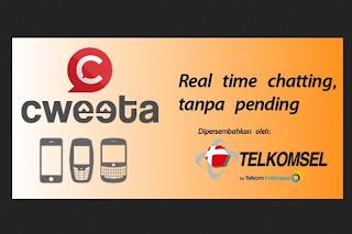 Telkomsel Cweeta | OneStopPulsa.blogspot.com