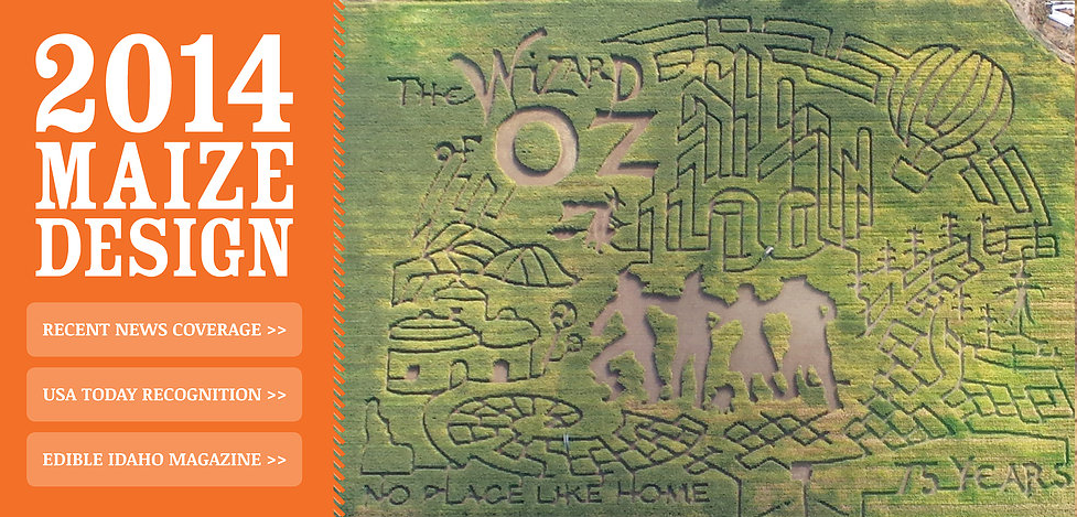 Wizard of Oz Corn Maze Design