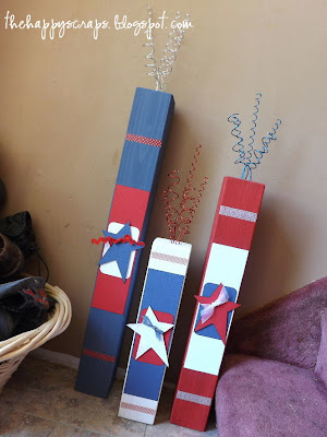 Firecrackers, 4th of July decor, 4x4 fireworks