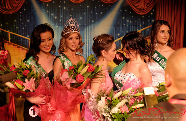 Winners Miss Earth Australia Jenna Seymour, Taylah-Jessica Marsh, Michelle Rimmer, Audrey Tan - Behind The Scenes 2012