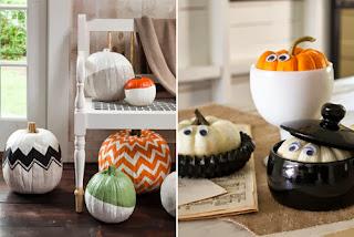 décoration halloween citrouille facile récup recyclage
