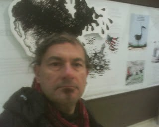 paris  water  assn  cartoon exhibition