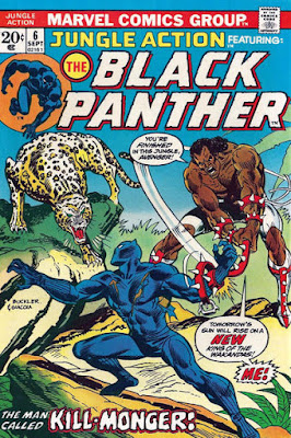 Jungle Action #6, Black Panther vs Killmonger