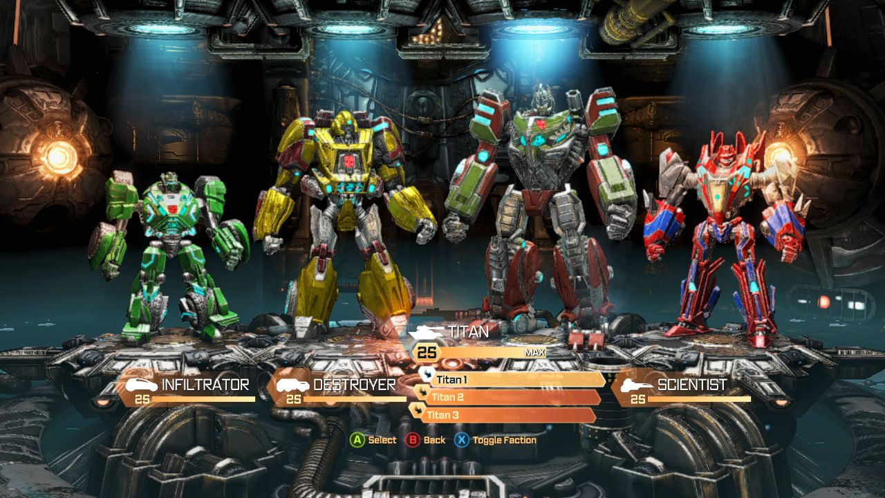 transformers fall of cybertron pc all achievements complete gameplay