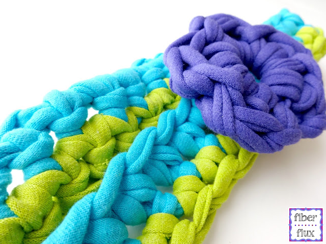 Free Crochet Patterns Tshirt Yarn : Fiber Flux: Free Crochet Pattern...T-Shirt Yarn Headband!