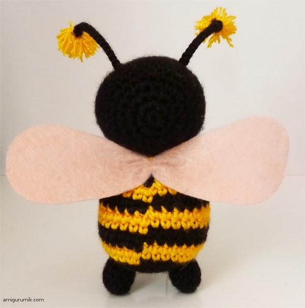 в спинке нашей пчелки.
