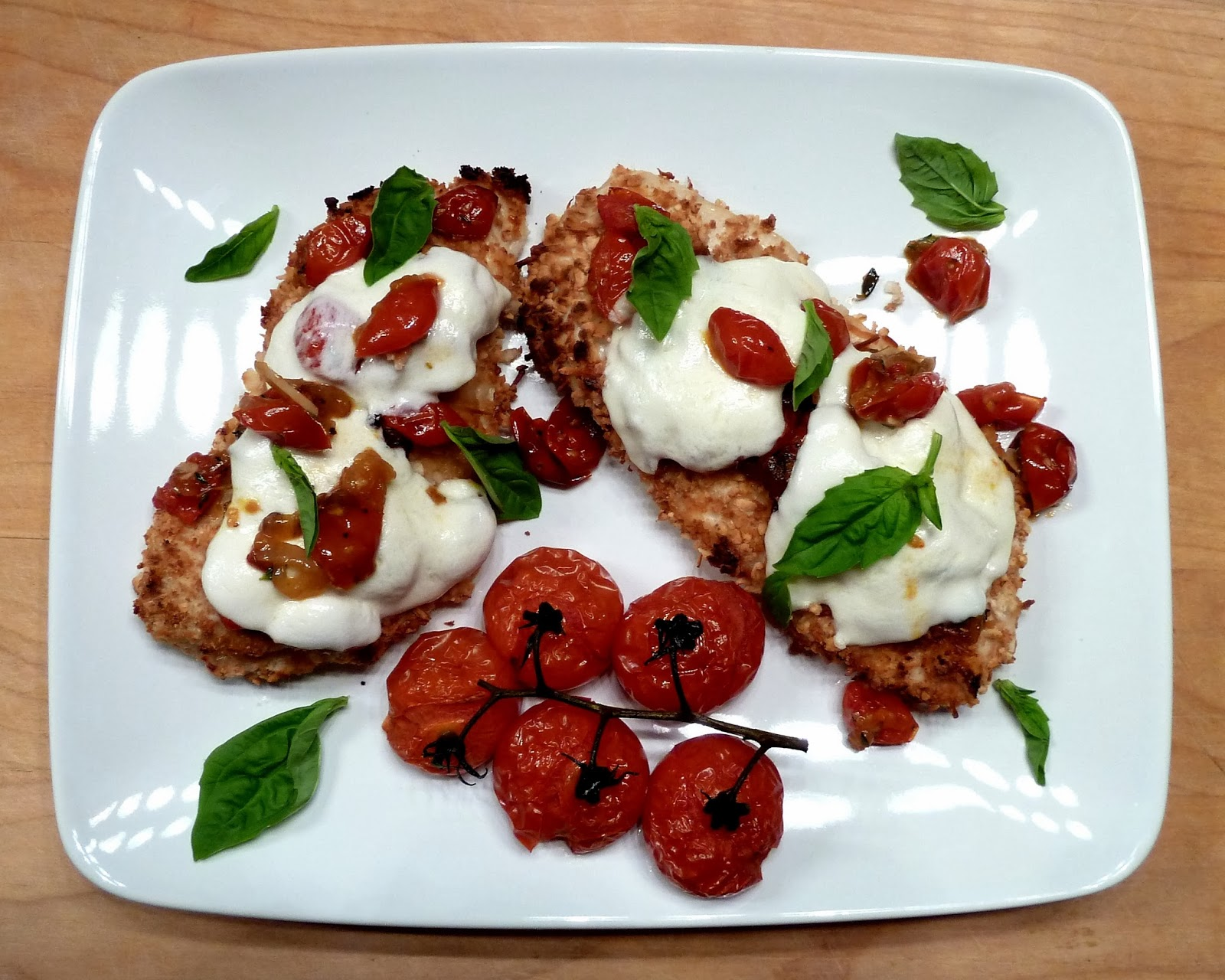 Chicken Parm With Fresh Tomato Sauce Recipes — Dishmaps