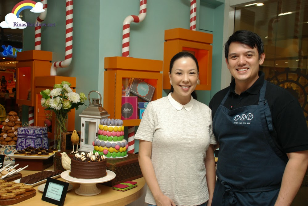 Chef Sunshine Pengson and Chef Rob Pengson
