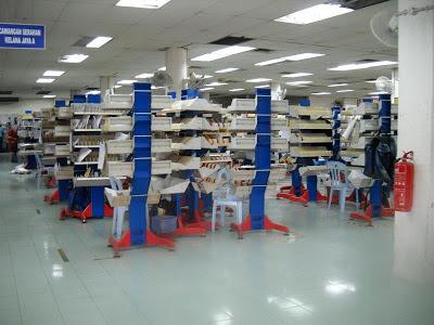 Kelana Jaya Post Office Mail Sorting Station