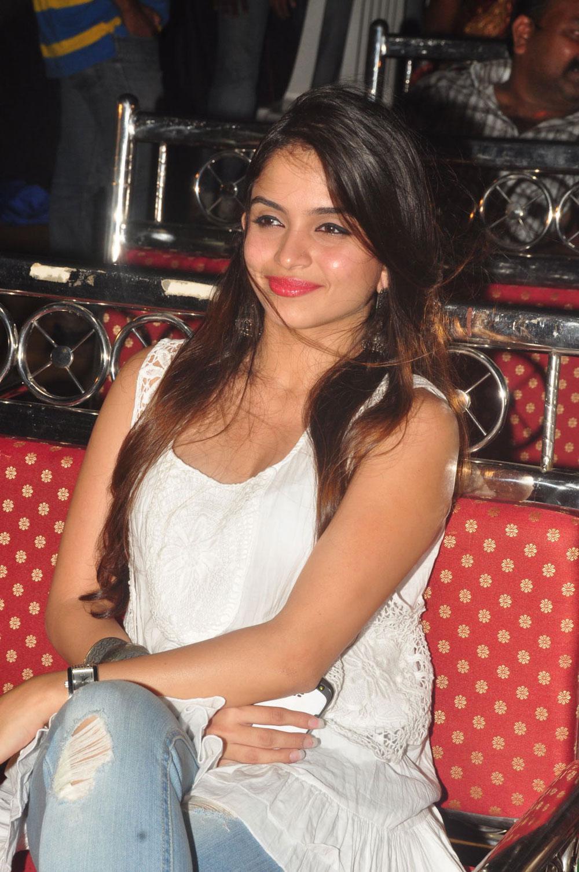 Confident hot sexy Sheena shahabadi photos at action 3d movie platinum disk event
