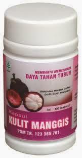 kapsul kulit manggis, tazaka, manfaat, khasiat