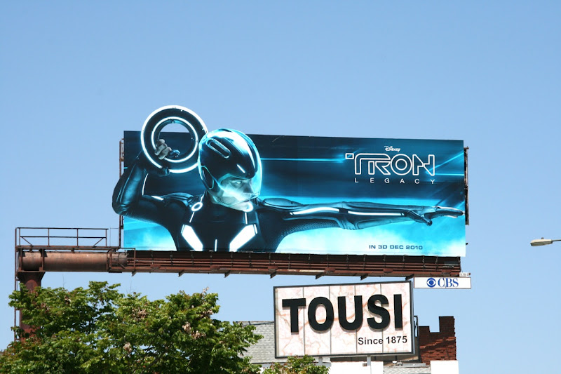 Tron Legacy special installation billboard