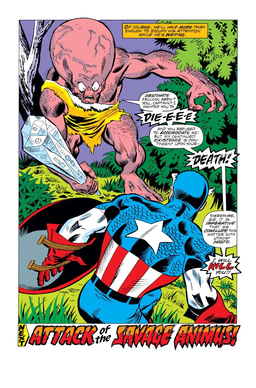 Captain America (1968) Issue #222 #136 - English 18