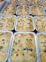Beehive Bun / Roti srg lebah + Sos Butterscotch