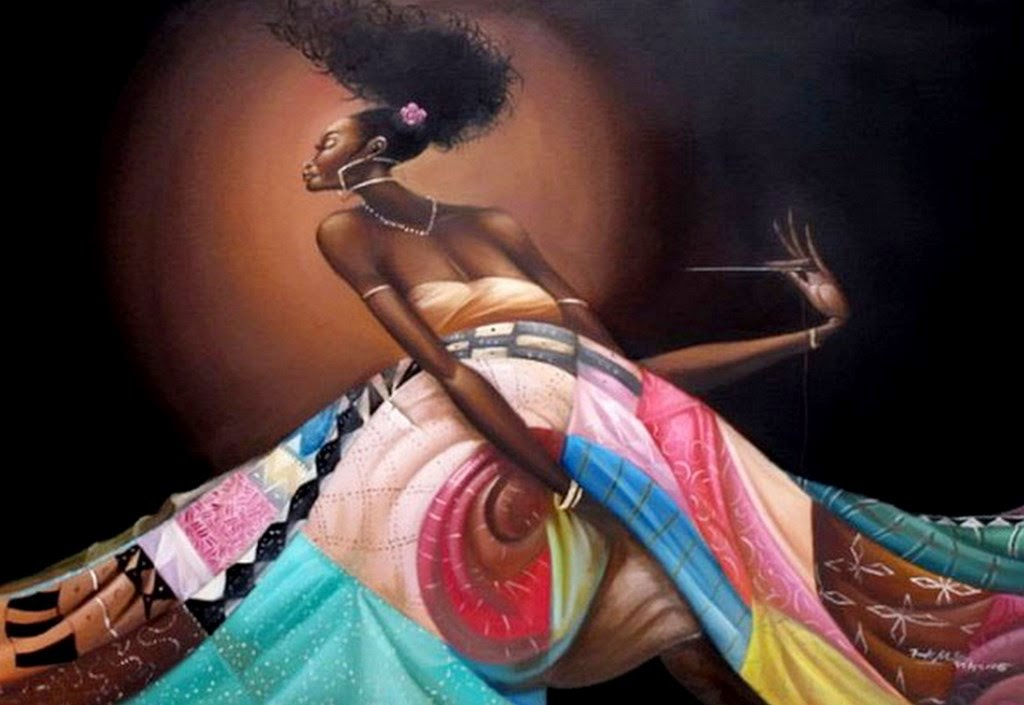cuadros-decorativos-con-mujeres-morenas-africanas