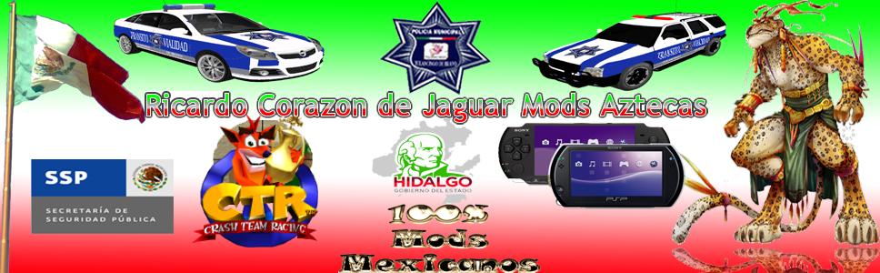 Ricardo Corazon de Jaguar Mods Aztecas