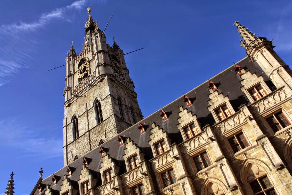 Belfort Belfry in Ghent