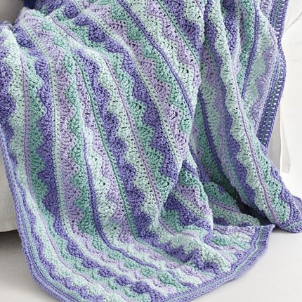 Summer Mist Throw - Free Pattern