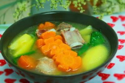 Canh khoai tây sườn non thơm ngon, bổ dưỡng