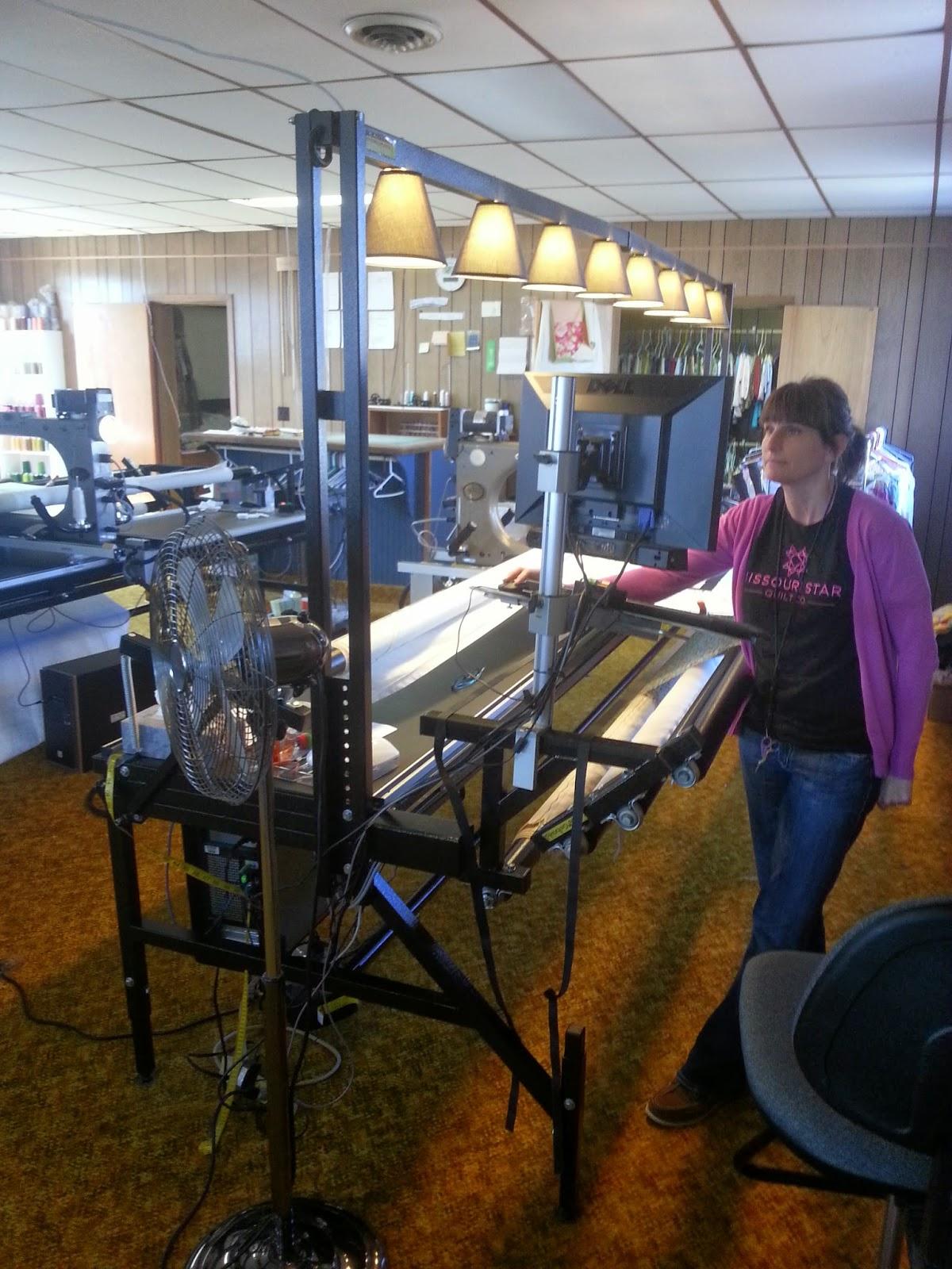 Hillbilly Quilt Shop: A little tour of The Missouri Star Quilt Company : missouri star quilting company - Adamdwight.com