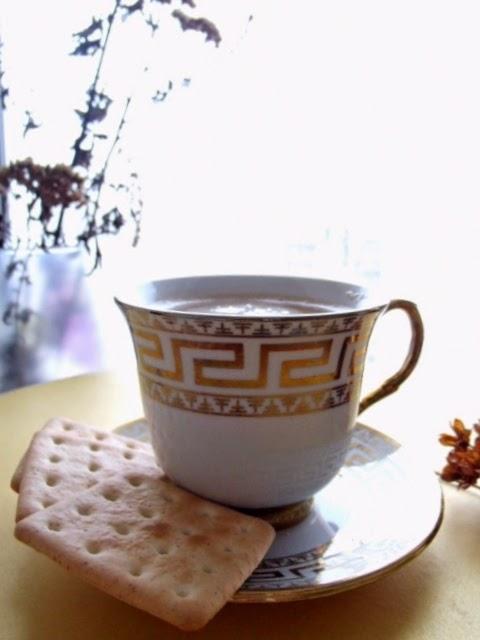 утро капуччино knitwell1 уют кофе с молоком греческий узор белый золото
