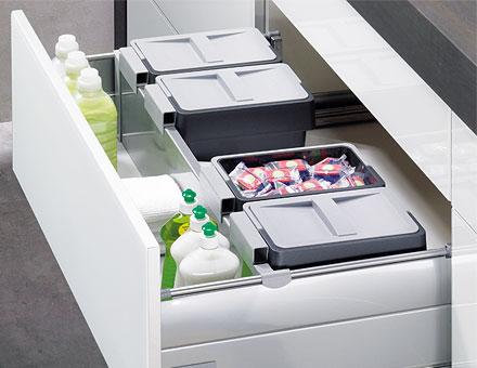 Cajones que hacen m s c moda la cocina cocinas con estilo for Con que limpiar los armarios de la cocina