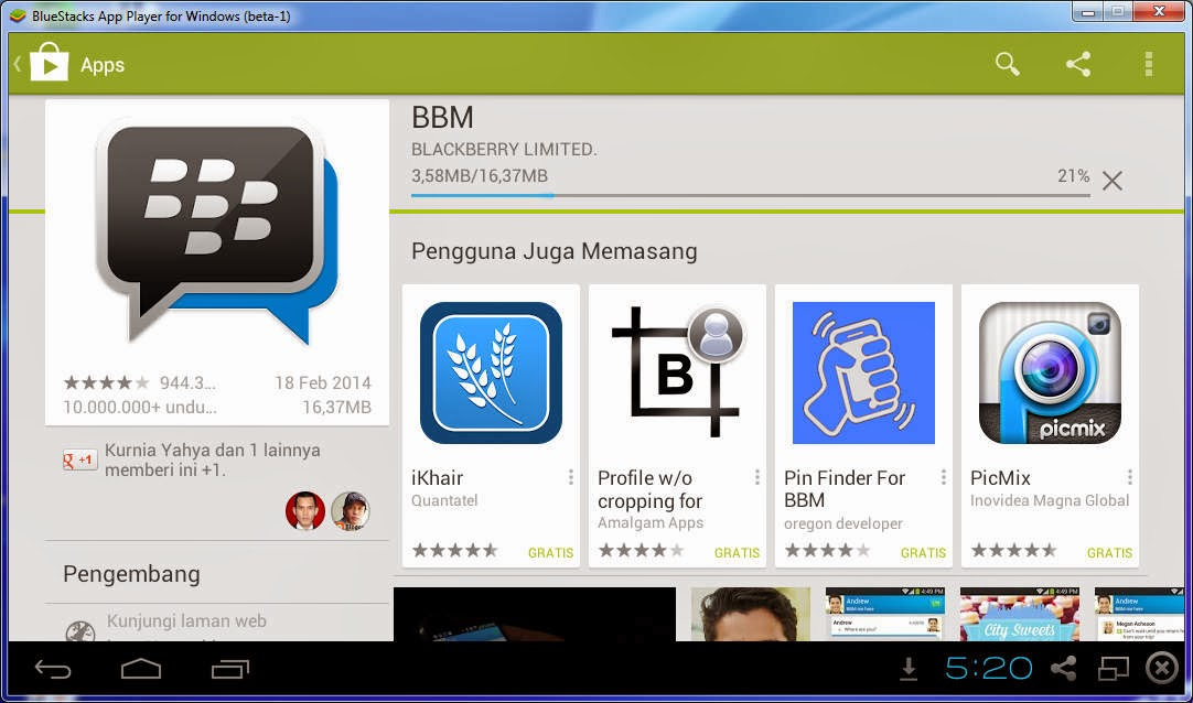 Download Bluestacks Android Emulator untuk Laptop Windows
