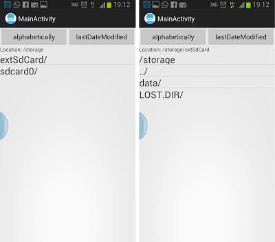 access SD Card on Samsung Galaxy S3