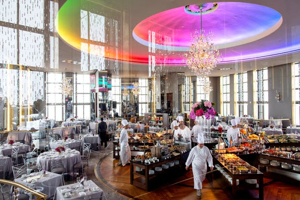 Re-abre el restaurante Rainbow Room del edificio Rockefeller