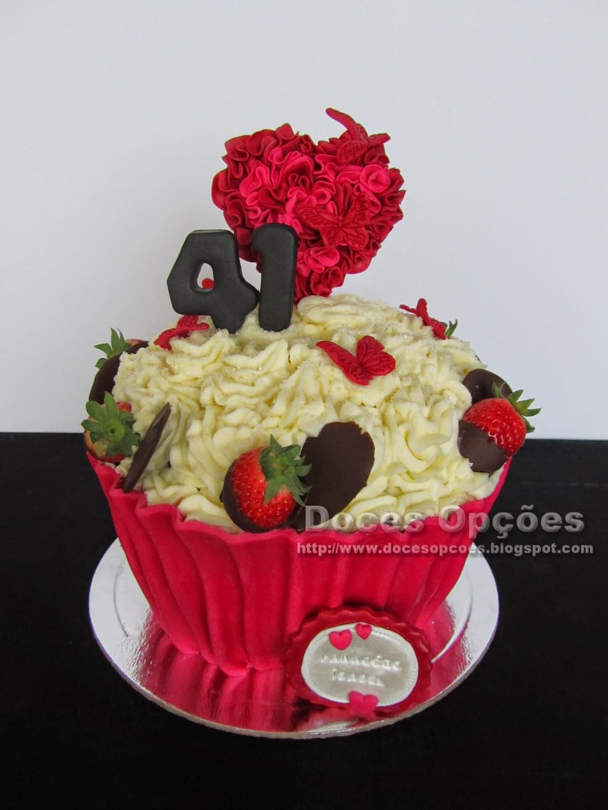 Bolo Cupcake guloso