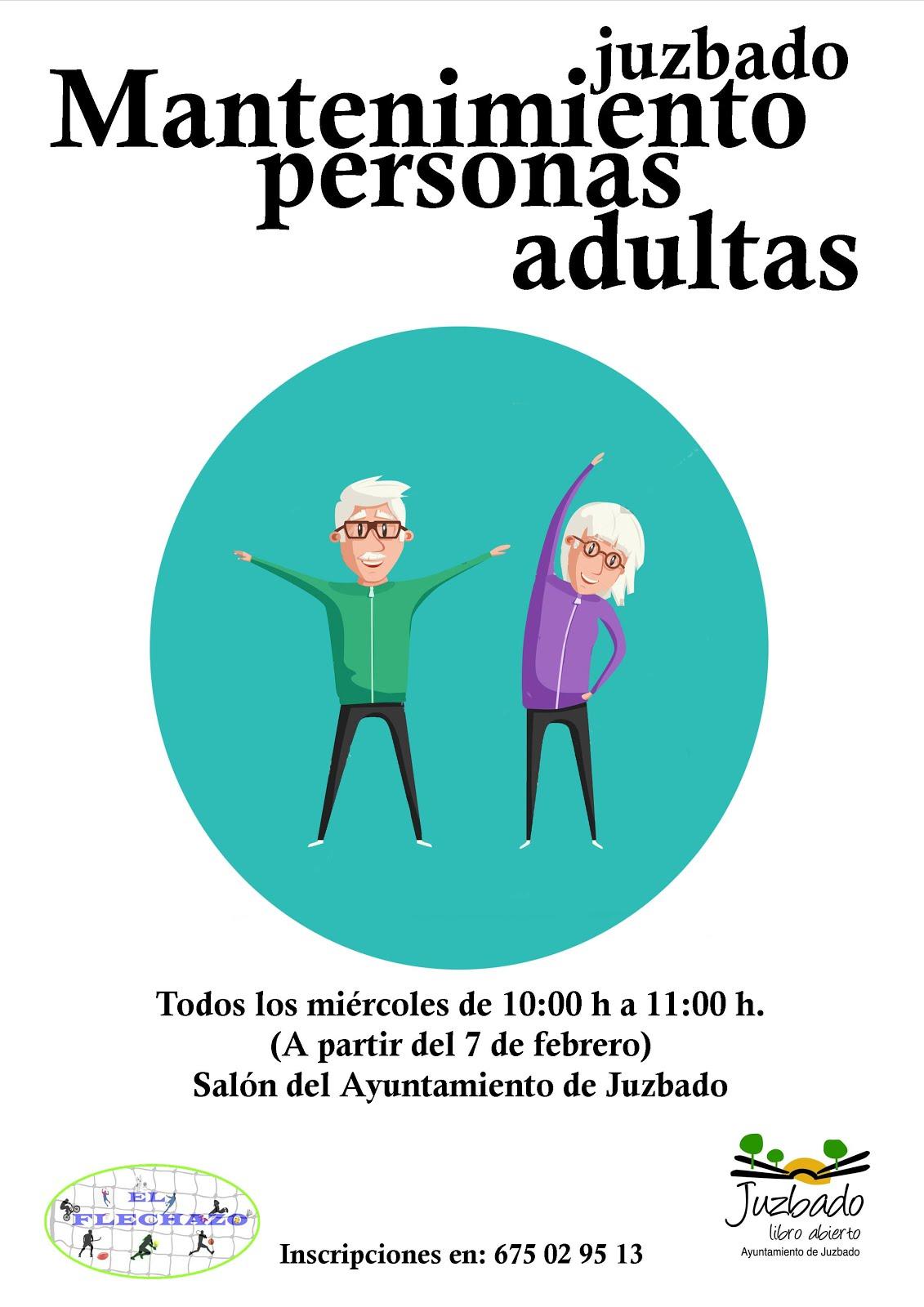Mantenimiento para personas mayores