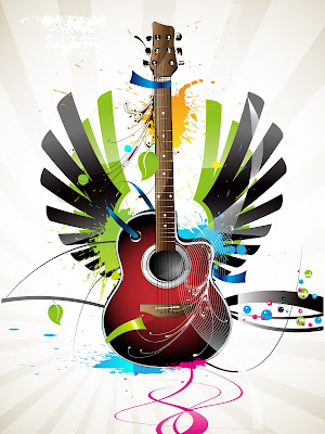 romantic musical instruments wallpapers