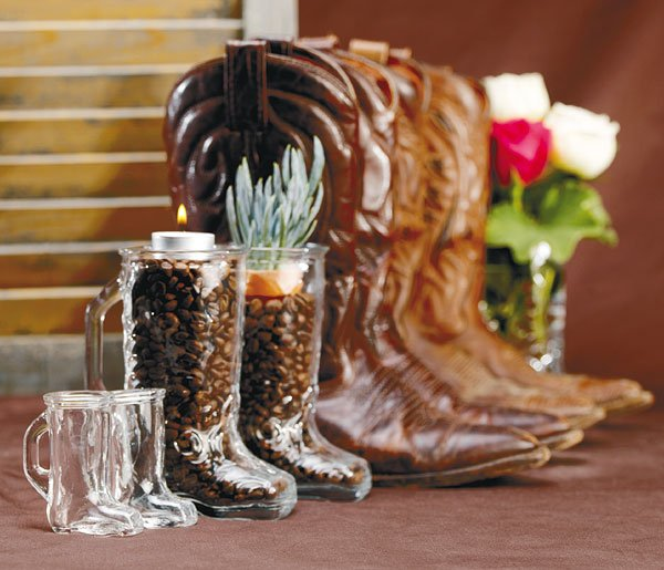 Country Wedding Centerpiece Decorations : Western wedding theme decorations have your dream