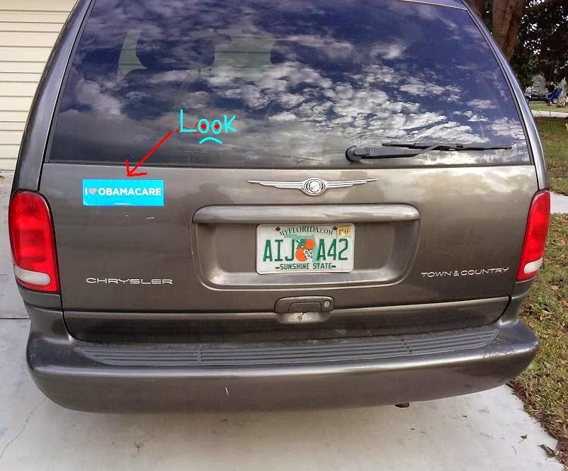Those bumper stickers