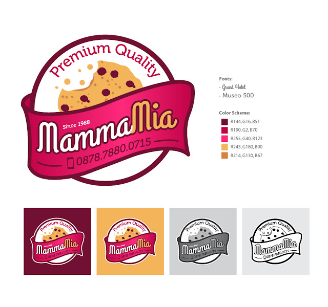 MammaMia Cookies