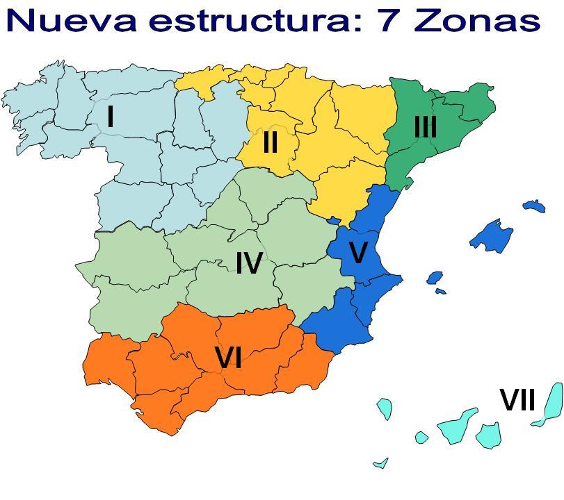 Sindicato libre nueva estructura territorial de correos for Oficina correos santiago de compostela