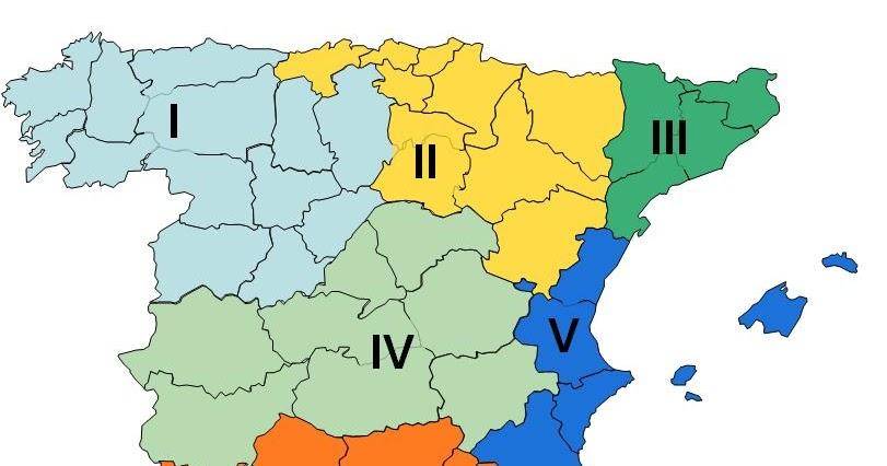 Sindicato Libre: Nueva Estructura Territorial de Correos. 7 Zonas