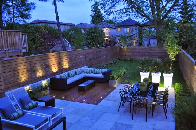 Backyard landscaping januari 2015 for Garden design ideas toronto
