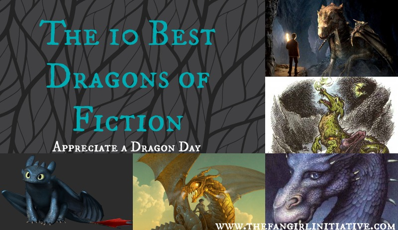 The 10 Best Dragons from Fiction ~ The Fangirl Initiative