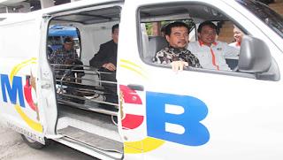 Ambulan Gratis Untuk Masyarakat Bogor