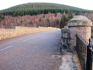 The start of the walk up Pannanich Hill, Deeside