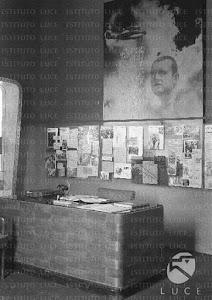 Sacrario in onore di Bruno Mussolini presso la Società Sportiva Bruno Mussolini