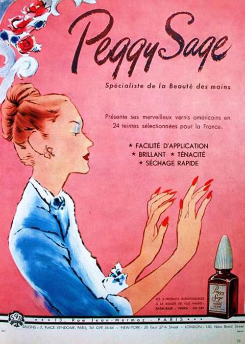 NailsByStephanie: 7 Vintage Nail Polish Ads