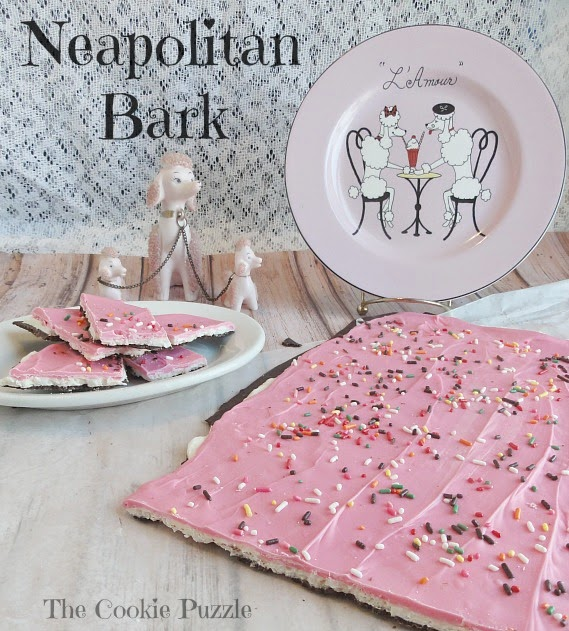 Neapolitan Bark by The Cookie Puzzle