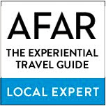I Contribute Photos and Stories as a Local Expert for AFAR.com: