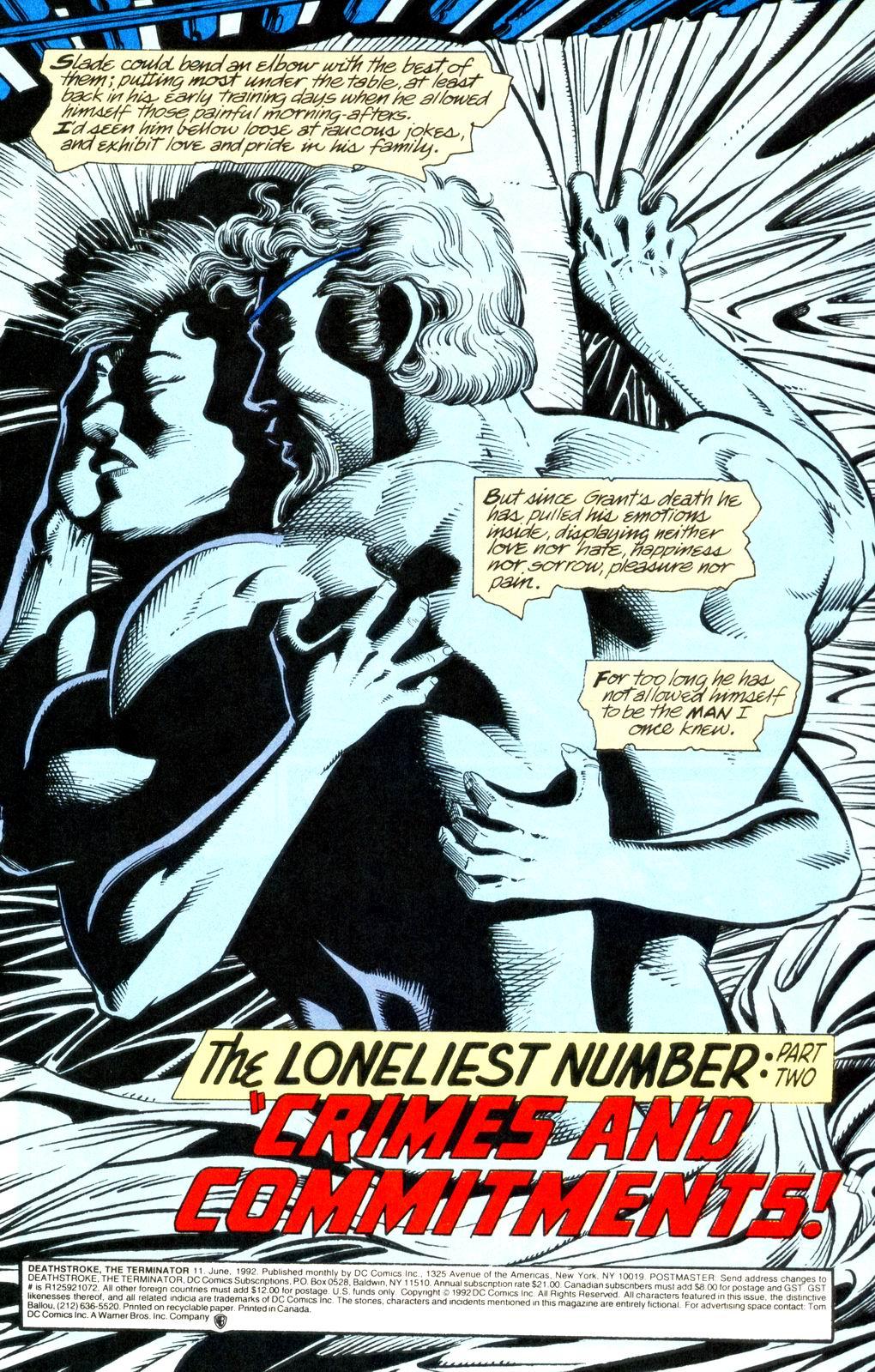 Deathstroke (1991) Issue #11 #16 - English 2