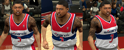 NBA 2K13 Patch Bradley Beal New Face Mod