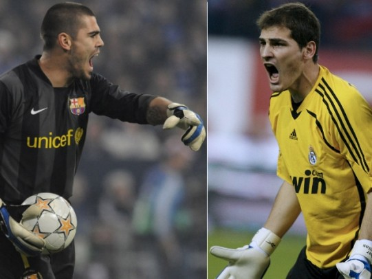 Casillas vs Valdes Real Madrid vs Barcelona
