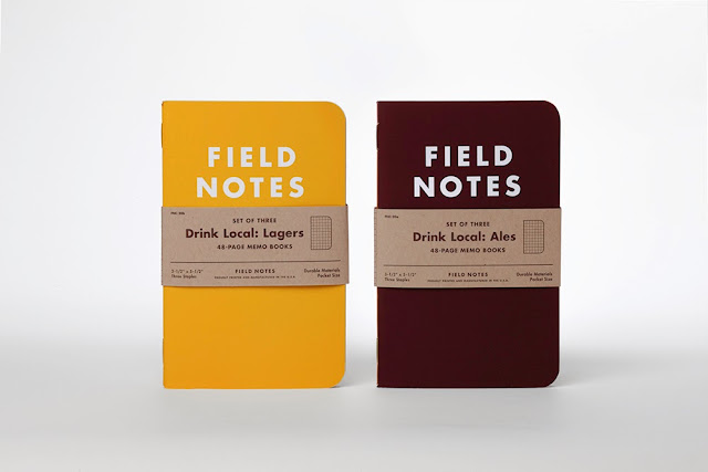 Field Notes Colors Drink Local Limited Edition, field notes note pads, field notes limited edition, field notes beer, field notes 20th