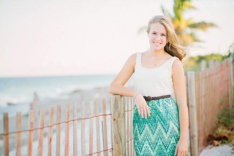 beach senior pictures florida